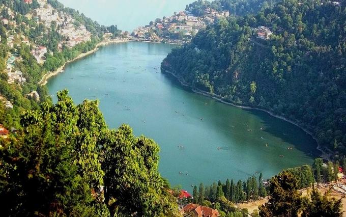 Famous lake in nainital on Trip to Nainital