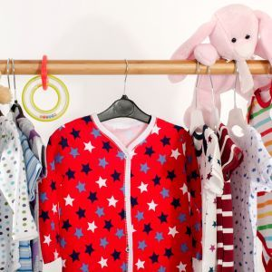 300 kids clothes and accessories