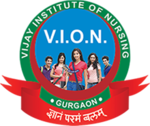 Vijay institute of nursing logo