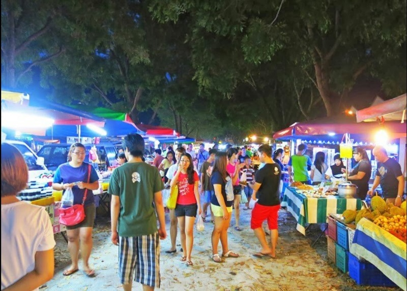 penang night market tour in Macallum road