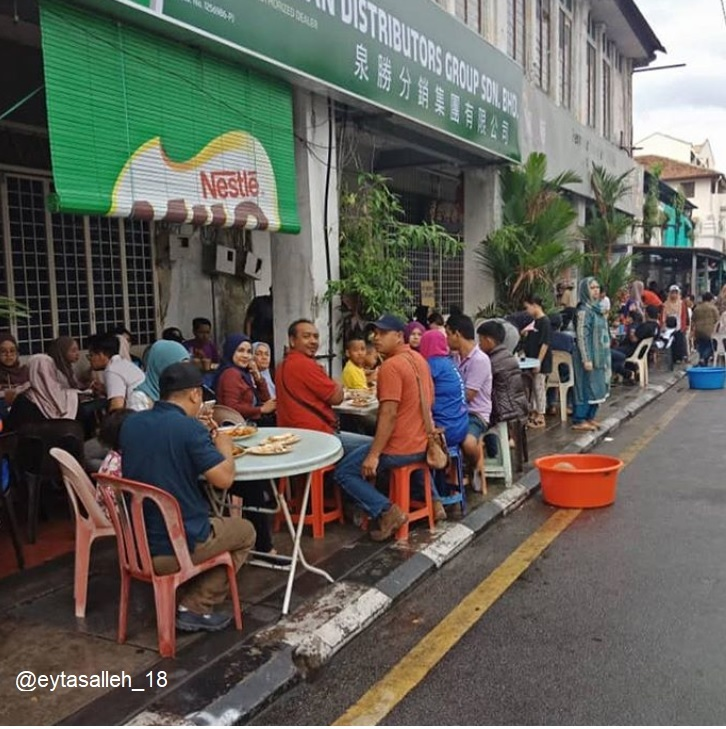 Food tour in Penang, Roti Canai