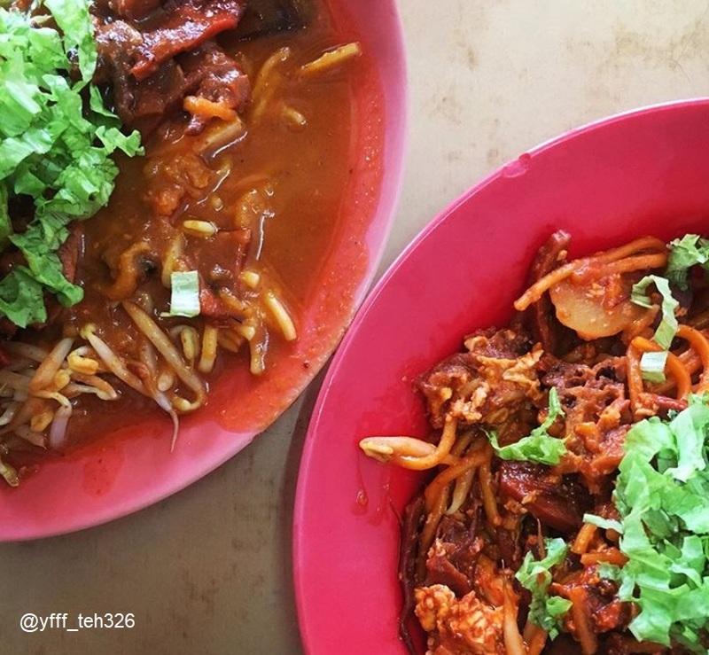 Food tour in Penang, Mee Goreng