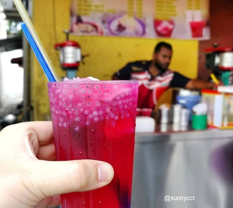 Food tour in Penang, Ais Tingkap