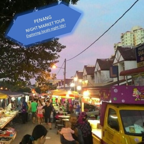 Penang   night market  1 2