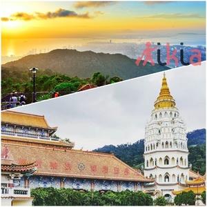 Penang tour   kls  pg hill 1