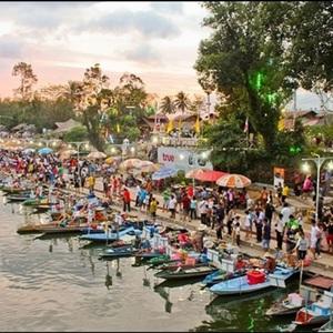 Hatyai tour  floating market