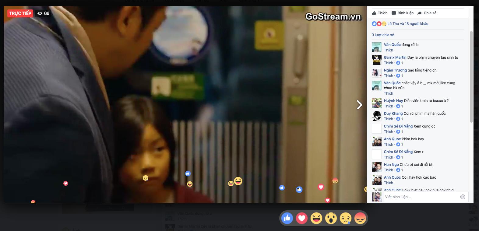 Thả tim trên livestream khá là vui mắt và thu hút người xem gostream.vn