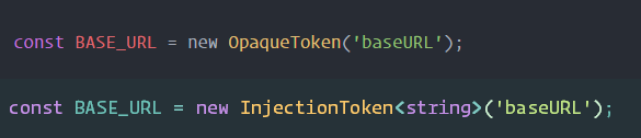 angular 4 injectiontoken