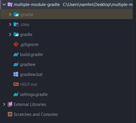 Hướng dẫn tạo Spring Boot với nhiều modules bằng Gradle