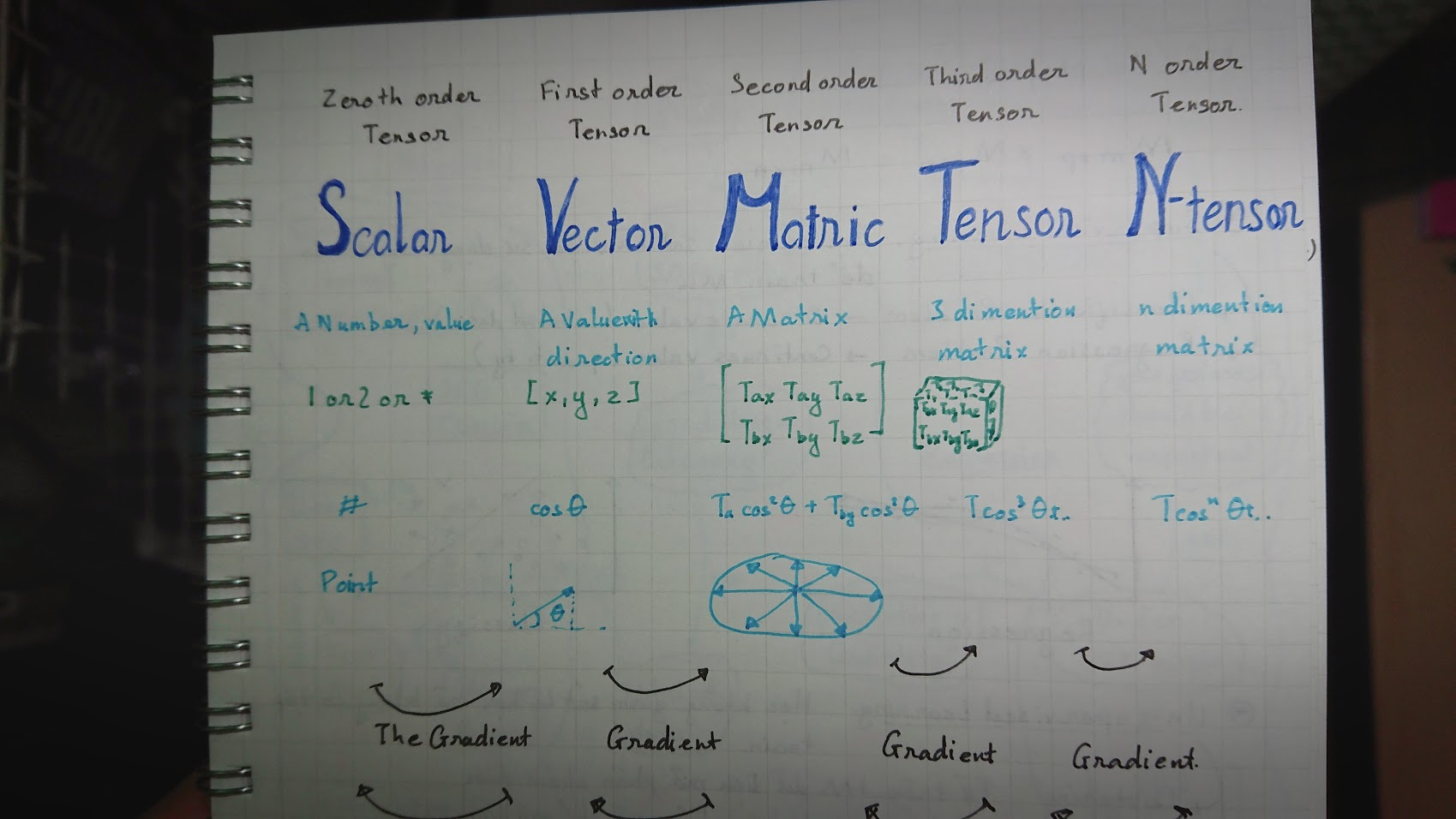 Hình 1.2: Ví dụ minh họa về Tensor