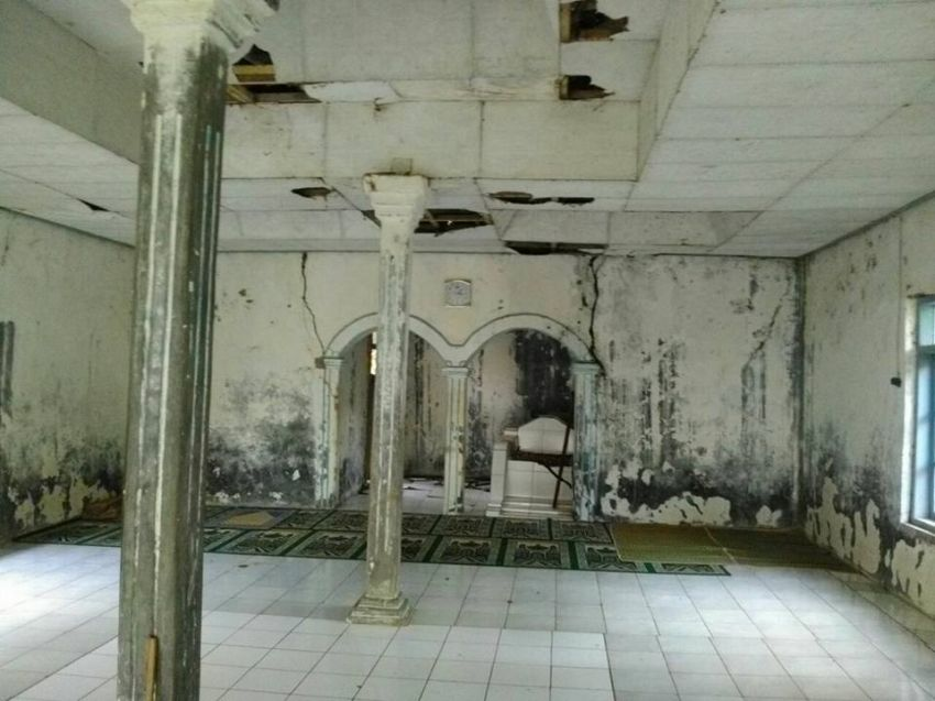 Kondisi didalam masjid