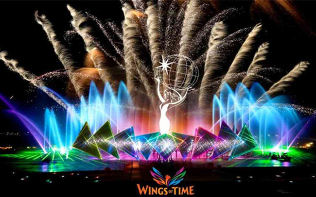 Image result for Wings of Time Singapore