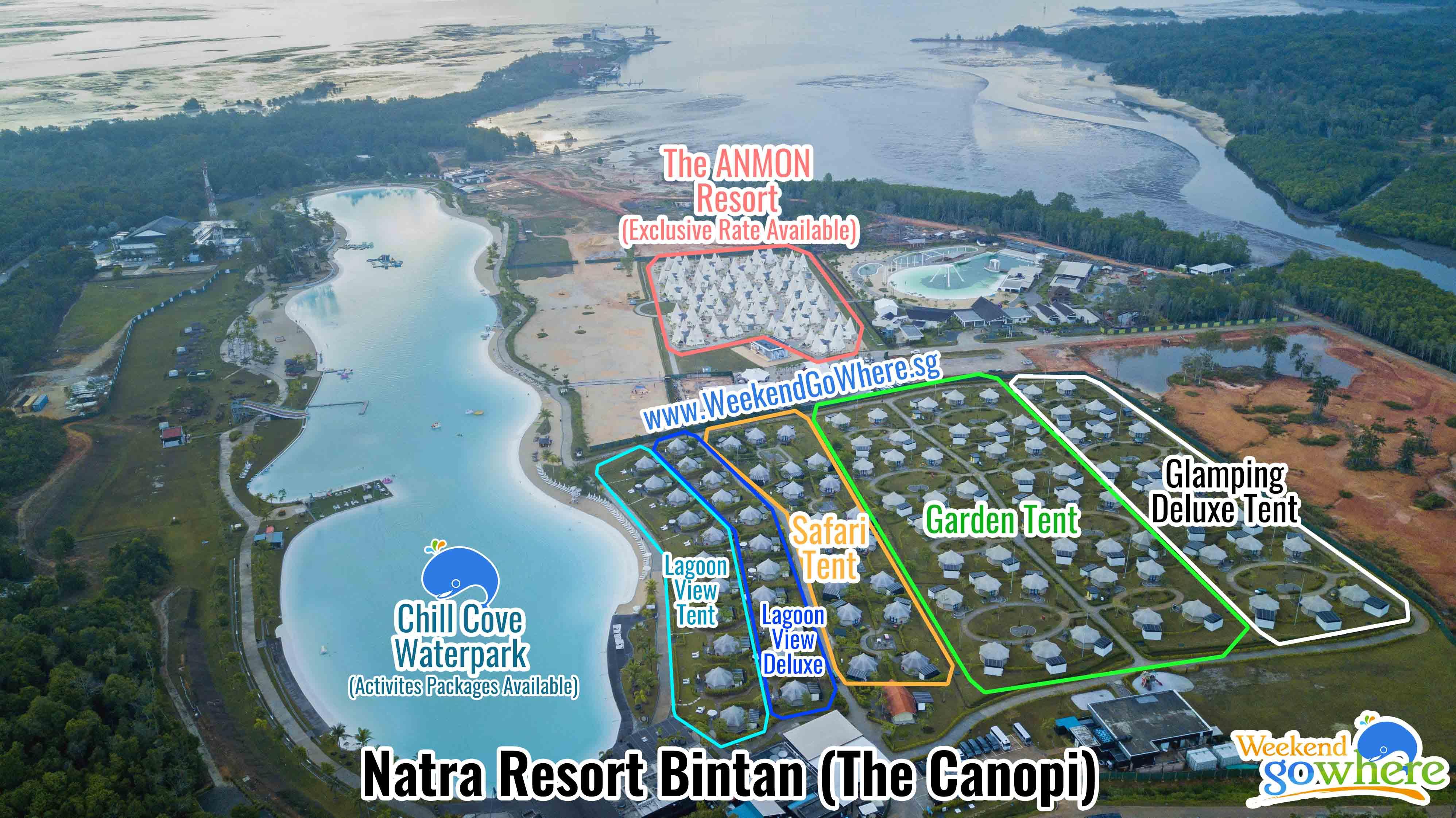 Bintan | The Canopi (Natra Bintan) + Ferry