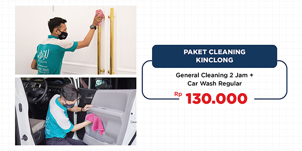 Paket Cleaning Kinclong