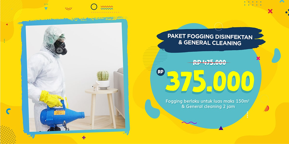 Paket Fogging & General Cleaning