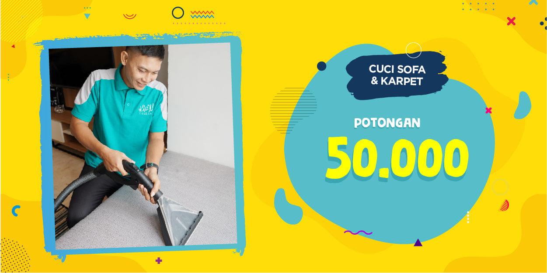Promo Cuci Sofa & Karpet