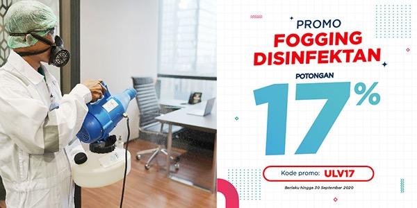 Fogging Disinfektan Merdeka 17 untuk Virus & Bakteri