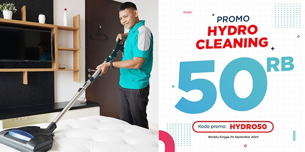 Promo Hydro Cleaning