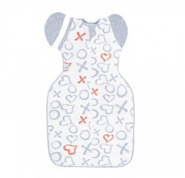 Swaddle UP™ 50/50 Designer Collection Kisses