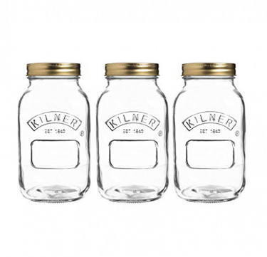 Set of 3 1-Lt Preserve Jars