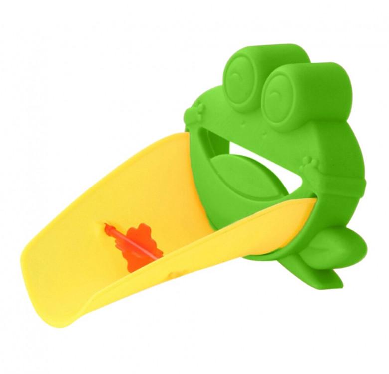 Frog Bath Spout Toy