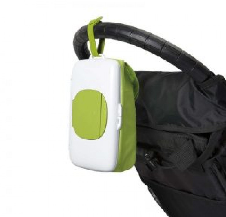 On-The-Go Wipes Dispenser with Diaper Pouch