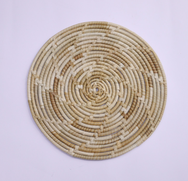 Set of 4 Round Pandan Placemats