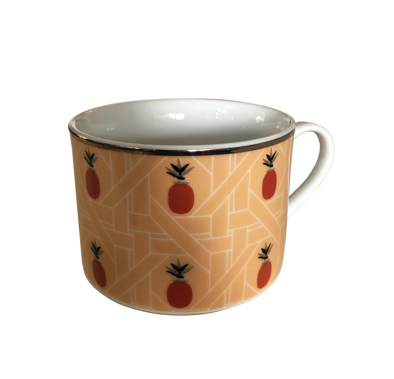 Pineapple Solihiya Teacup & Saucer Set