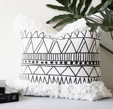 Boho Throw Pillow