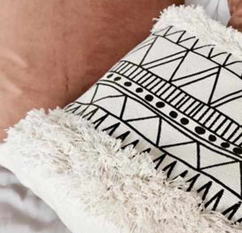 Boho Throw Pillow