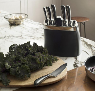 Signature Knife Block Set with Steel with Sharpener