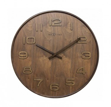 Wood Wood Medium Wall Clock