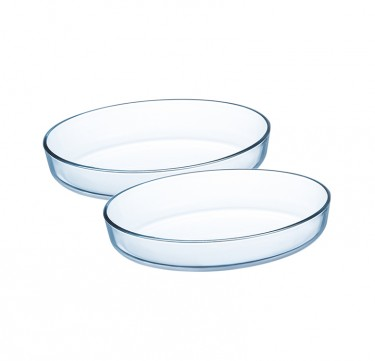 2-Piece Sabot Oval Dish