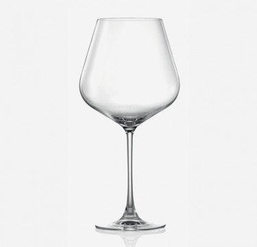 Hongkong Hip Burgundy Wine Glasses Set of 6