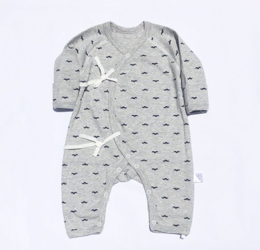 Little Man Lace-up Coverall
