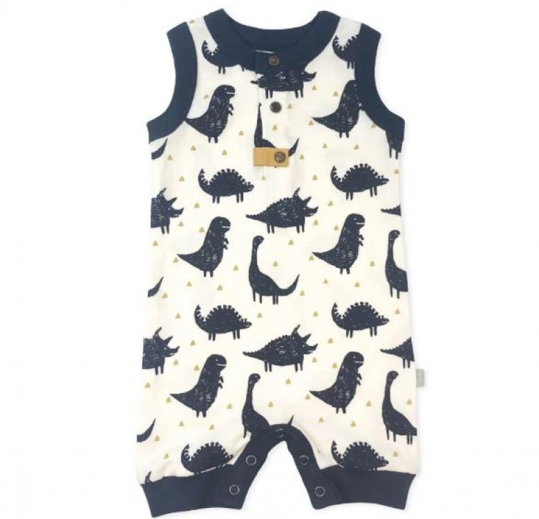 Finn + Emma Dinos Collection Romper