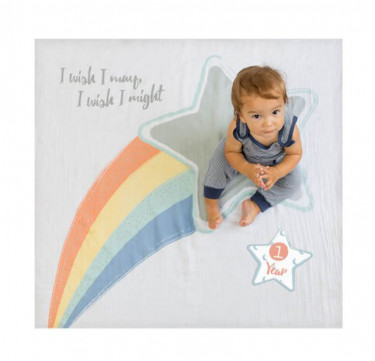 I Wish I May Milestone Blanket & Card Set
