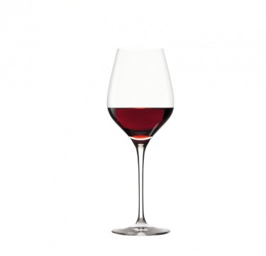 Exquissit Lead-Free Crystal Royal Red Wine Set of 6