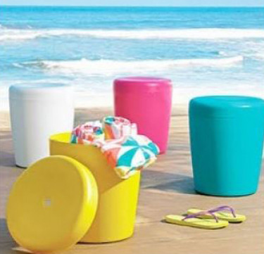Pouffe Stool & Storage