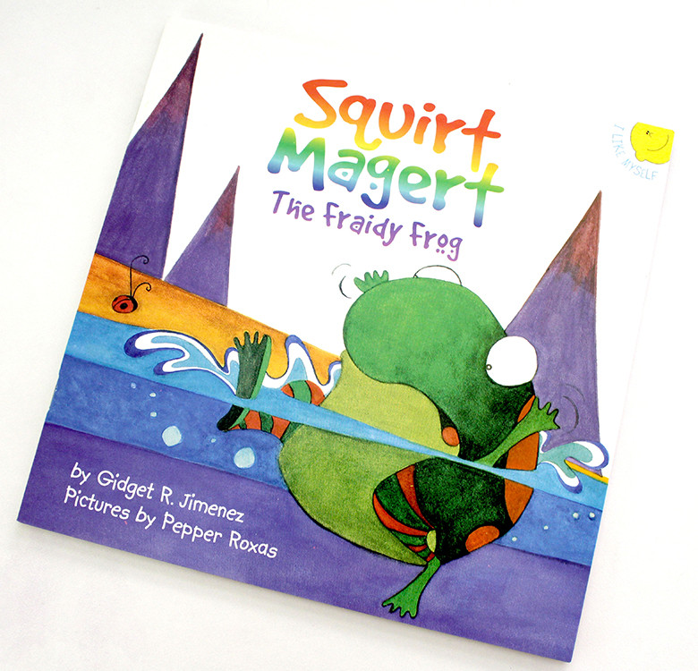 Squirt Magert, The Fraidy Frog (Picture Book)