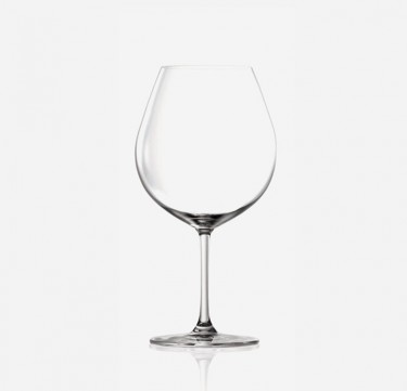 Bangkok Bliss Burgundy Wine Glasses
