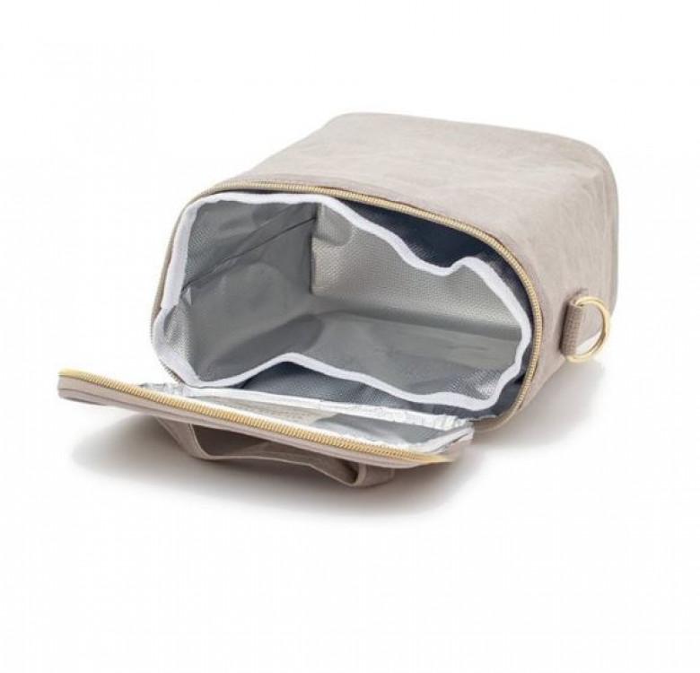 Insulated Petite Poche (WP Stone Grey)
