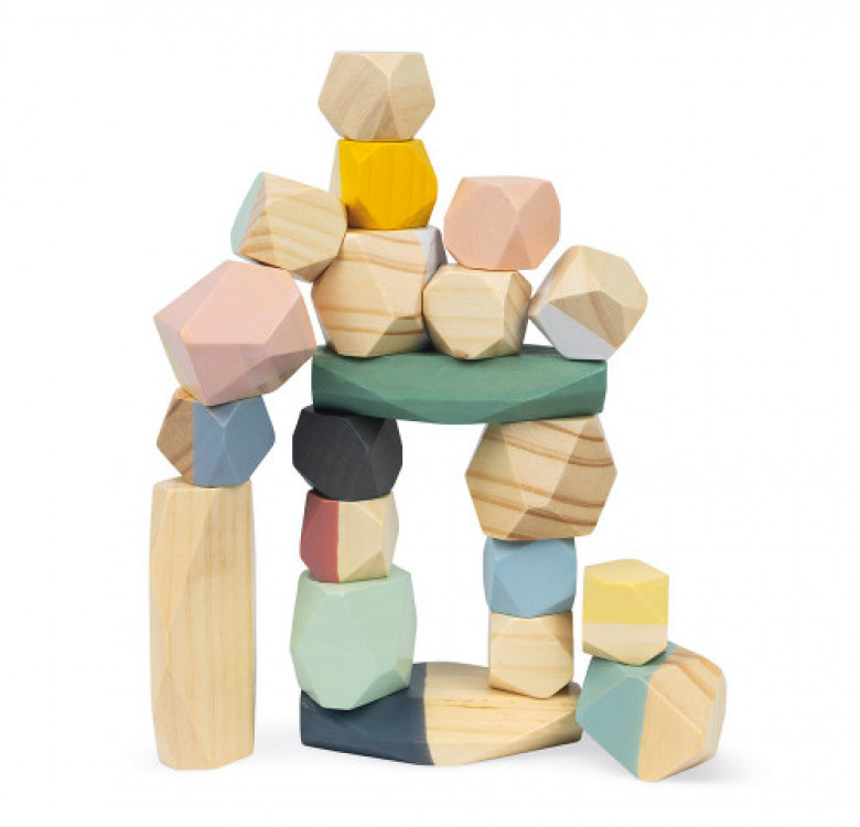 Sweet Cocoon Stacking Stones