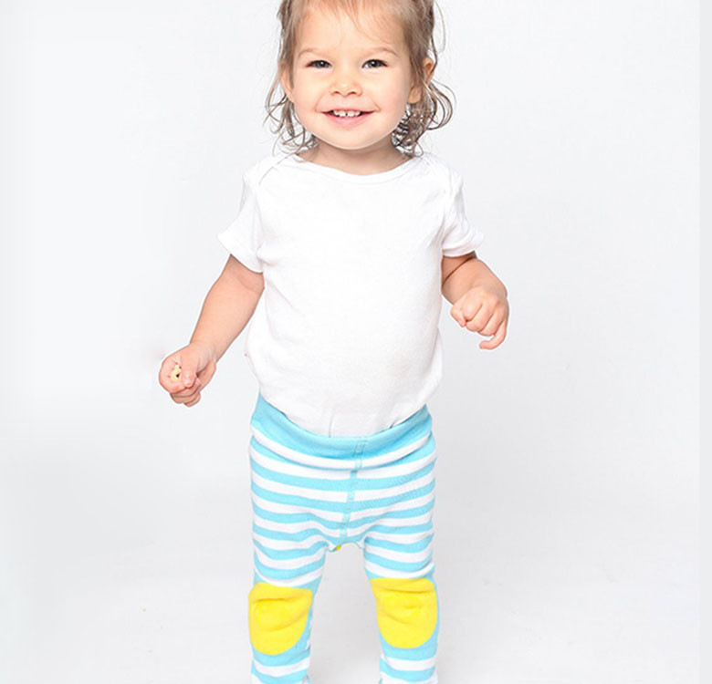Puddles the Duck Grip+Easy Crawler Leggings & Socks