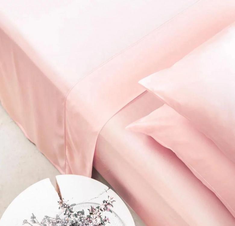 Earth-Friendly Bamboo Lyocell Resort Sheet Set (Sakura Pink)
