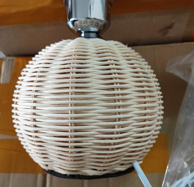 East Hampton Rattan Lamp