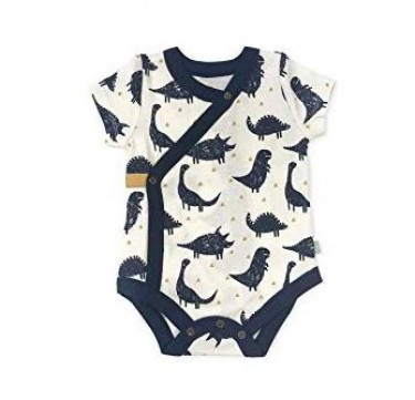Finn + Emma Dinos Collection Short Sleeved Bodysuit