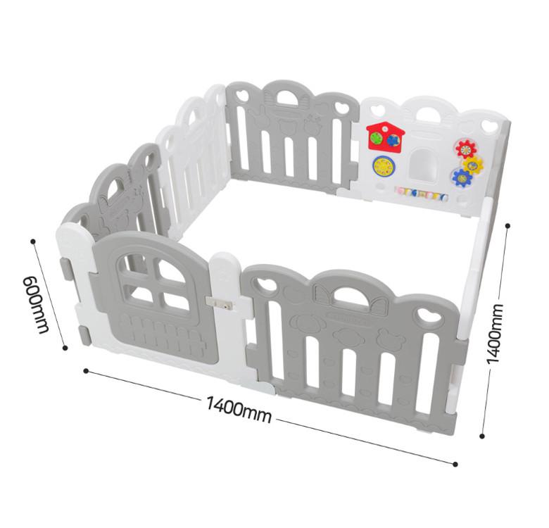 8-Panel Petite Baby Room