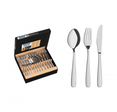 Amazonas 24-Piece Flatware Set