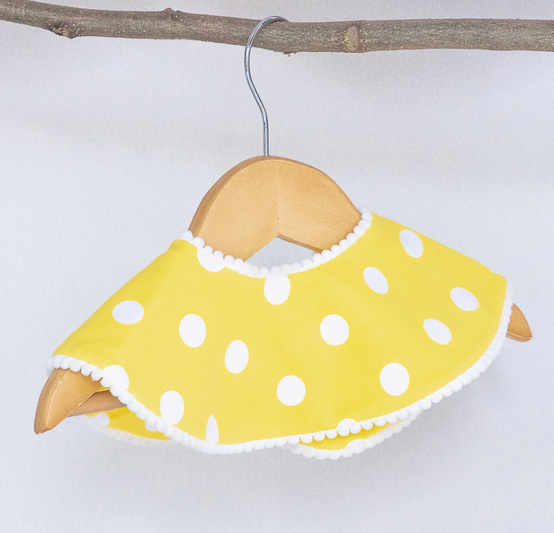 Peppy Polka Collection 360° Bib